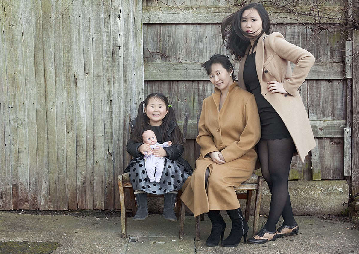 BUJIDMAA, NOMIUN AND MICHELLE - Mothers and Daughters project