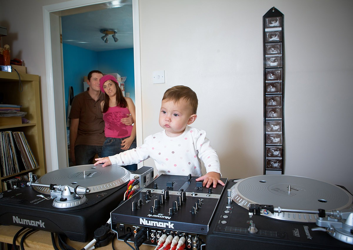 I WANNA BE DJ LIKE MY DAD