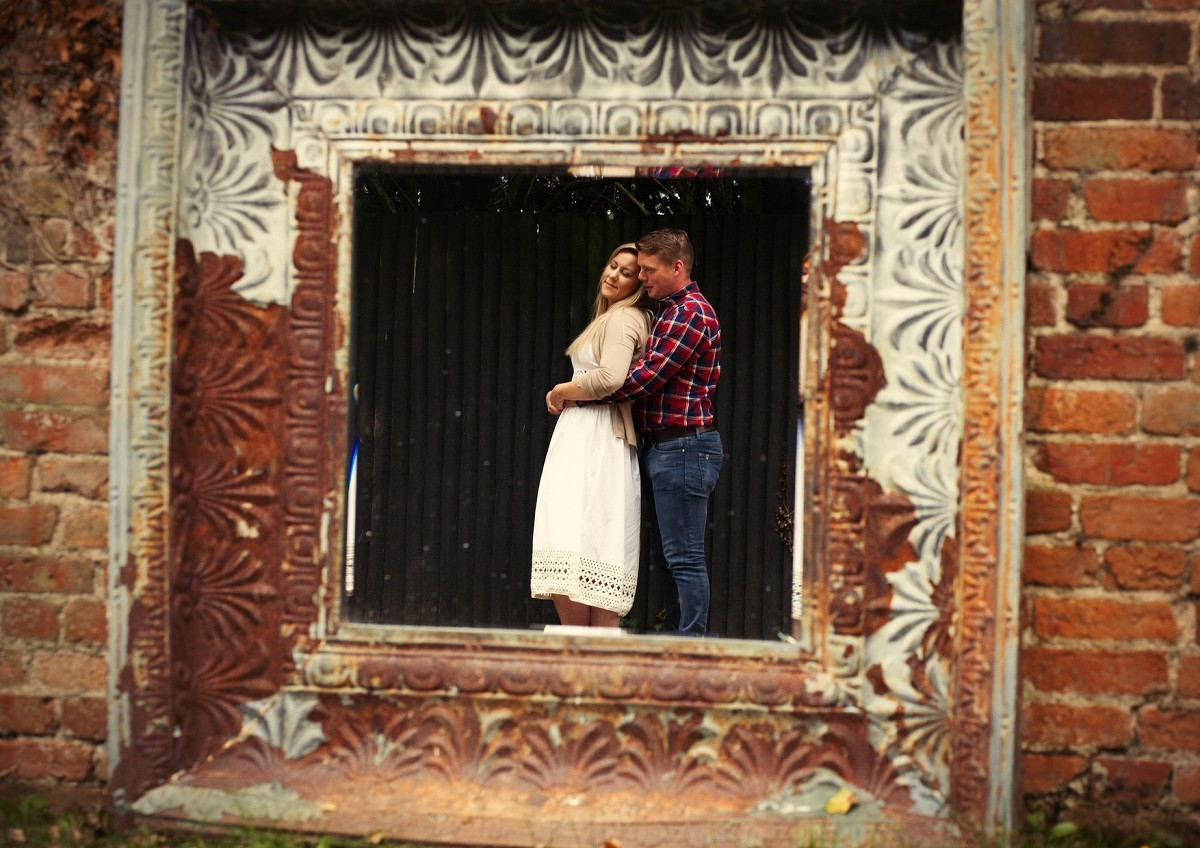 engagement in the old mirror